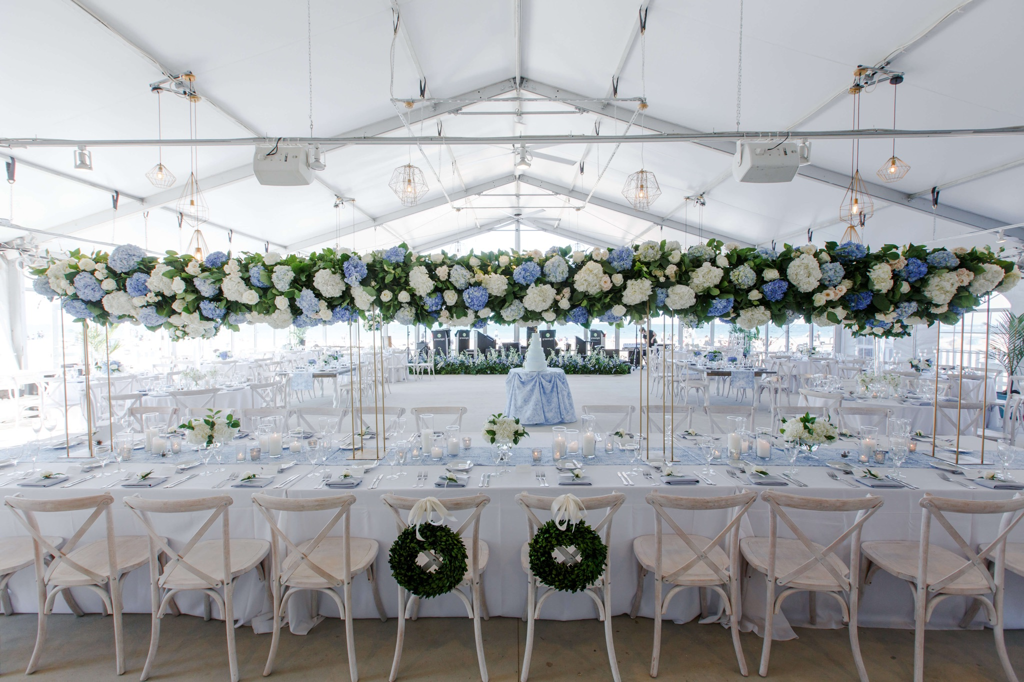 Elegant Wedding Reception Table Settings